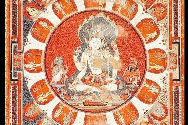 Inclusion Of Bhagwan Vishnu In Buddhism